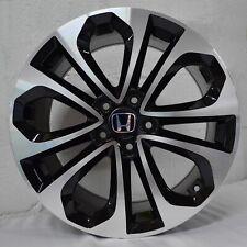 Set of 4 Wheels 20 inch Black Machined Rims fits HONDA ACCORD SEDAN 4 CYL. 08-18