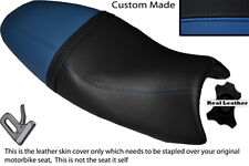 ROYAL BLUE & BLACK CUSTOM FITS TRIUMPH SPEED TRIPLE 08-10 1050 SEAT COVER