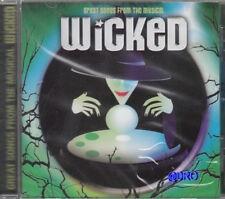WICKED + CD + 12 Hits aus dem gleichnamigen Musical + San Juan Players + NEU