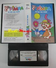 film VHS cartone PIMPA SI DA' DA FARE PANINI 2002 RAI TRADE (F43**)  no dvd