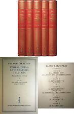 FLORA Storia della Letteratura Italiana MONDADORI 1956