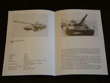 Typenblatt Mittlerer Panzer T-72 M, DDR,Museum Dresden!