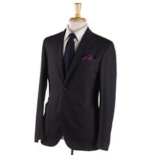 NWT $1845 BOGLIOLI Gray-Black Houndstooth Check 'K Jacket' Suit 38 R (Eu 48)