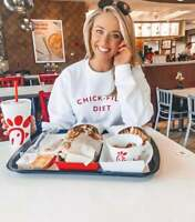 Chick-Fil-A Diet Funny Graphic T-Shirt Sweater Pullover Unisex Designer