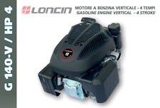 MOTORE LONCIN benzina G 140 ALBERO VERTICALE PER RASAERBA 140cc 4 HP
