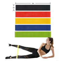 Set of 5 Resistance Exercise Loop Bands Stretching Workout Fitness Pull Up Bands