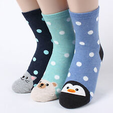 sehr niedlich 6Paare=1Bündel Frau, Frauen lustigen korea Socken cuteheel def