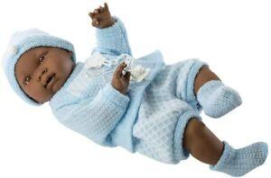 CHERISH DOLLS LLORENS 45CM BLACK BABY BOY PLAY DOLL NOE ANATOMICALLY CORRECT UK