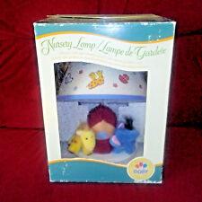 Vintage Dolly Noah'S Ark Nursery Lamp 1999 New Old Stock in Box Plush Animals