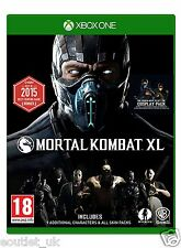 Mortal Kombat XL for Xbox One X1 BRAND NEW & SEALED FIGHTING GAME