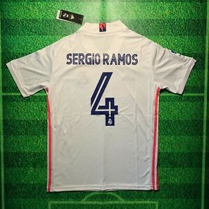 Sergio Ramos Real Madrid 2020/21 Home Jersey (1 Day Shipping)