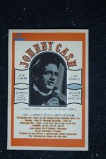 Johnny Cash Poster 1971 Garden State Art Center