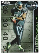TJ HOUSHMANDZADEH FATHEAD TRADEABLES SEATTLE SEAHAWKS BENGALS STICKER 2010 #57