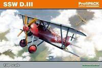 Eduard Profipack 1:48 SSW D.III Aircraft Model Kit