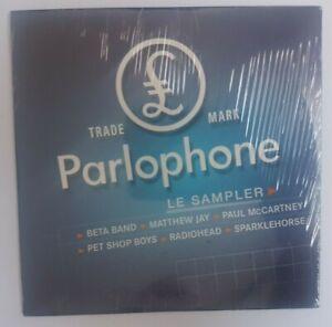 PARLOPHONE SAMPLER - McCARTNEY, RADIOHEAD, PET SHOP BOYS ╚ NEUF! FRENCH CD PROMO