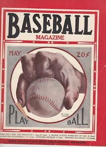 VINTAGE EARLY  1930S BASEBALL MAGAZINE  IN VERY GOOD CONDITION