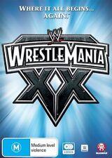 WWE - Wrestle Mania 20 (DVD, 2016, 3-Disc Set)