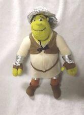 "Shrek Knight 14"" Plush Stuffed Toy Doll Shrek The Third Nanco 2006 Free Ship"