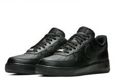 Nike Air Force 1 '07 Triple Black Trainers Uk 9 **Brand New In Box**