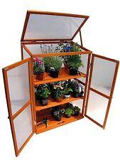 BOIS SERRE CHÂSSIS froid Armoire élevage du cabinet balcon jardin h110xb76xt56