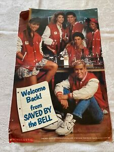 """1993 Saved By The Bell 'Welcome Back' TV Movie Photo Poster 17x11"""""""