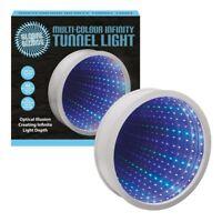 Benross Global Gizmos round Shaped 42 LED Infinity Mirror Tunnel Lamp Light