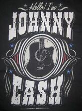 T-SHIRT XXL HELLO, I 'm Johnny Cash --- ROCK N ROLL OI
