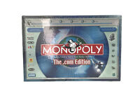 Monopoly Dot Com Edition Parker Brothers Hasbro Family Board Game 2000 Sealed