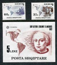 Albania 2421-2423 MNH EUROPA CEPT-1992 500th Ann. of New World Columbus x17217