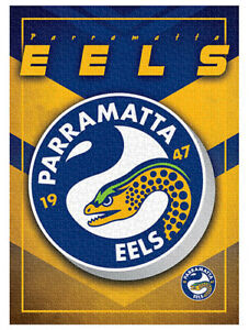 NRL Puzzle Team Logo Parramatta Eels Puzzle 1,000 pieces