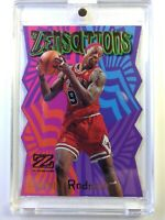 1997-98 Skybox Z-Force Zensations Dennis Rodman #18ZN, Die-Cut, Chicago Bulls