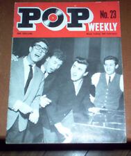 Pop Weekly Magazine February 2, 1963 The Beatles RARE Early Article and Photo