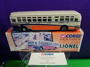 Corgi Classics 54103 GM 4507 LIONEL CITY COACH COMPANY  1:50 Scale. Limited Ed
