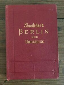 Baedeker's Berlin und Umgebung 1908