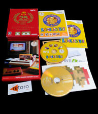 SUPER MARIO BROS 25TH ANNIVERSARY + CD SOUNDTRACK HISTORY ART Nintendo WII JAP