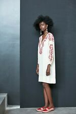 Rabens Saloner Beautiful Embroidered Stylish dress Small BNWT