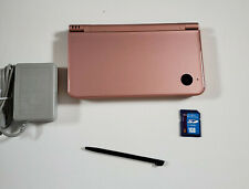 NINTENDO DSi XL BURGUNDY WINE RED PINK UTL-001; TESTED; GOOD CONDITION; UTL 001