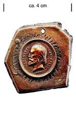 Garibaldi, vecchia moneta, medaglia, campione INCISO, SCONTO, sconosciuto, molto raro