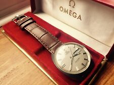 OMEGA Vintage 1970s Mens Seamaster Cosmic Automatic Day Gents Steel Watch + Box