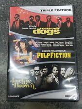 RESERVOIR DOGS Pulp Fiction JACKIE BROWN DVD Quentin Tarantino 3-Disc Set