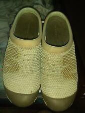 Merrell Silver Burch Mesh Slip On Mule Slide Clog Womens Size 9