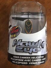 Air Hogs Hawk Eye Yellow Helicopter w/ Camera Hawkeye