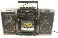 HITACHI TRK-9150 W, vintage boombox,serviced. (ref D 052)