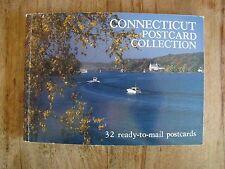 Connecticut Postcard Collection 32 Postkarten Sammler  PK 011