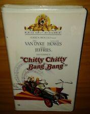 Chitty Chitty Bang Bang (1968) *PLAY-TESTED VHS* CLAMSHELL CASE, DICK VAN DYKE