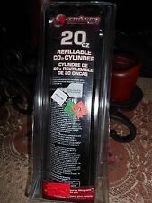 Stryker 20oz CO2 refillable paintball tank