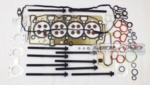 HEAD GASKET SET & HEAD BOLTS FOR BMW 2.0 TURBO DIESEL N47D20C ENGINE *BRAND NEW*