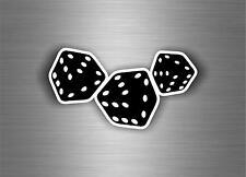 Sticker adesivi adesivo moto auto jdm bomb tuning poker casco murali dadi r1