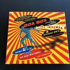 Goa Box: Trance 4 Motion by VA ( CD, 1997, 3 Discs - Cleopatra - CLP 9753 )