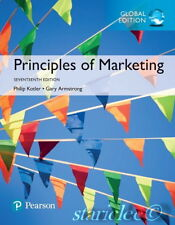 NEW 3 Days 2 US Principles of Marketing 17E Armstrong Philip Kotler 17th Edition
